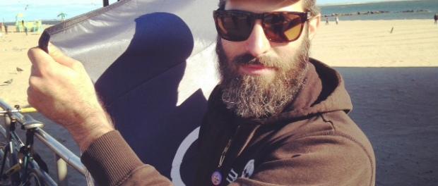 Ethan Wolf on the boardwalk