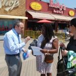 Treyger Invites Residents to Testify to Landmark Boardwalk