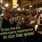 Wahlburgers Rooftop Bar and Food Menu