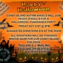 Coney Island Autism Angels/Peggy O'neill's Halloween /fundraiser party