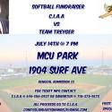 Coney Island Autism Angels Vs Team Treyger Softball Fundraiser